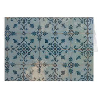 Portugal Vintage Mosaics Card