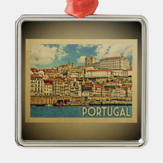 Portugal Vintage Travel Ornament