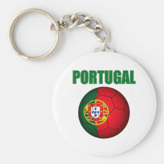 Portugal World Cup t-shirt Basic Round Button Key Ring