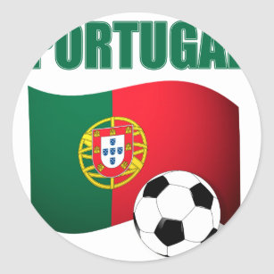 Portugal Soccer Gifts Stickers Zazzle Au
