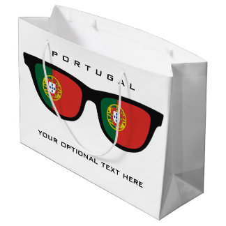 Portugese Shades custom text & color gift bag