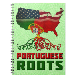 Portuguese American Roots Notepad Notebooks