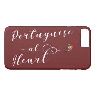 Portuguese At Heart Mobile Phone Case
