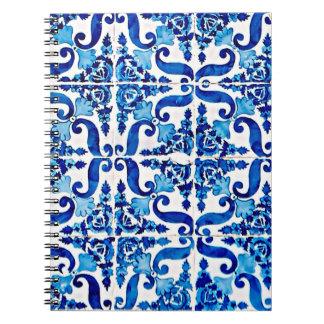 Portuguese Azulejo Notebook