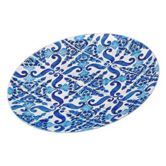 Portuguese Azulejo Plate