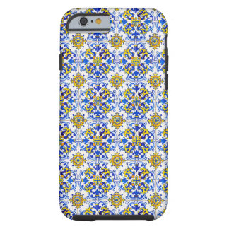Portuguese Azulejos Seamless Pattern Tough iPhone 6 Case