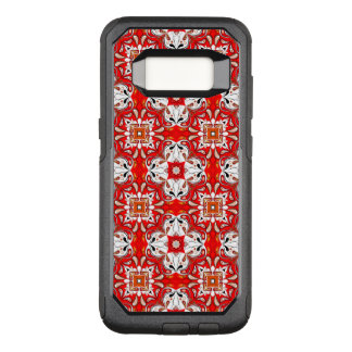 Portuguese Ceramic Tile Pattern OtterBox Commuter Samsung Galaxy S8 Case