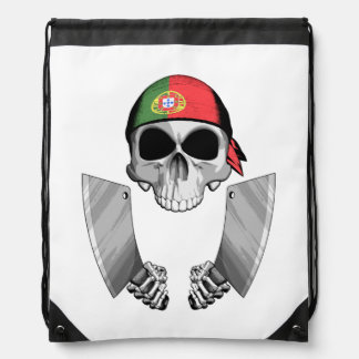 Portuguese Chef 2 Drawstring Bag
