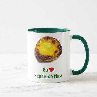 Portuguese custard tart mug