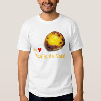 Portuguese custard tart tshirts