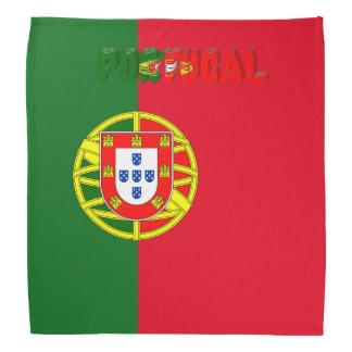 Portuguese flag bandana