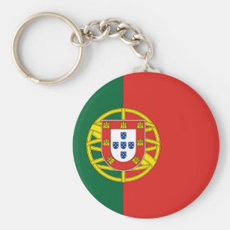 Portuguese Flag Key Ring