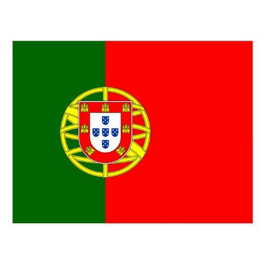 Portuguese flag of Portugal custom postcards