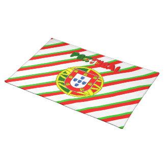 Portuguese flag placemat