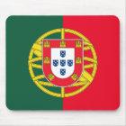 Portuguese flag quality mouse pad