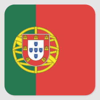 Portuguese flag sticker