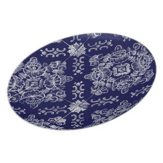 Portuguese Floral Plate