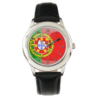 Portuguese glossy flag watch