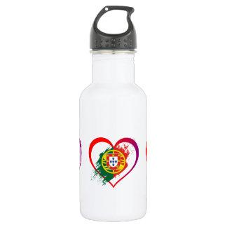 Portuguese heart 532 ml water bottle