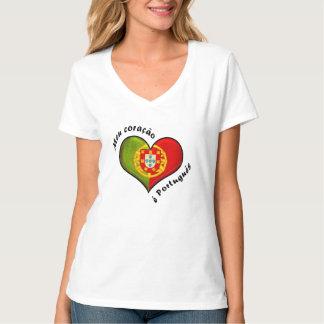 Portuguese heart T-Shirt
