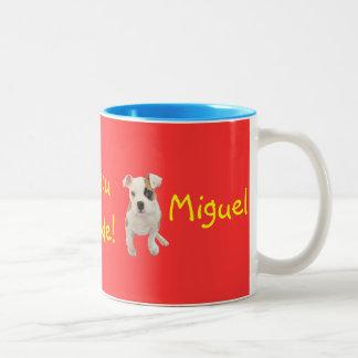Portuguese: O Miguel já é grande! Coffee Mug