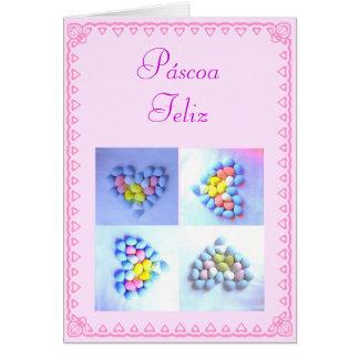 Portuguese: Ovos de Páscoa / Easter eggs Card