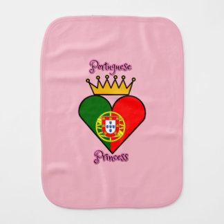 Portuguese Princess Burp Cloth