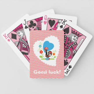 Portuguese Rooster of Luck Playing Cards