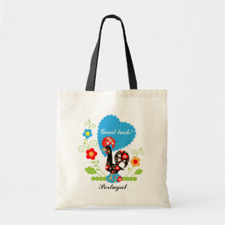 Portuguese Rooster of Luck Tote Bag