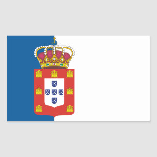 Portuguese Royal Flag Sticker