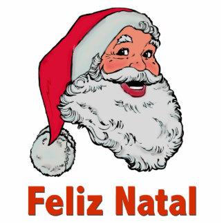 Portuguese Santa Claus Photo Sculpture Decoration
