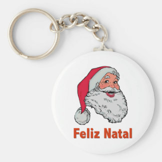 Portuguese Santa Keychain