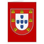 Portuguese shield card