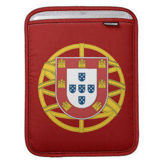 Portuguese shield iPad sleeve