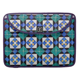 "Portuguese Square Tiles Macbook Pro 15"" Sleeve For MacBook Pro"