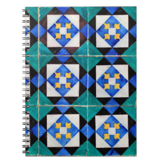 Portuguese Square Tiles Notebook