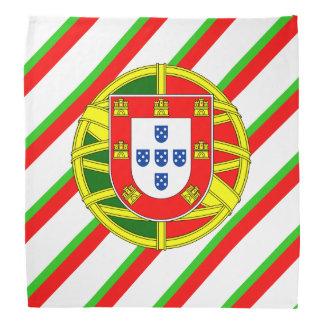 Portuguese stripes flag bandana