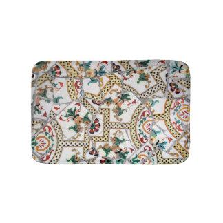 Portuguese tile bath mats