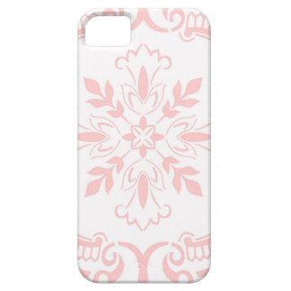 Portuguese tile in light red barely there iPhone 5 case
