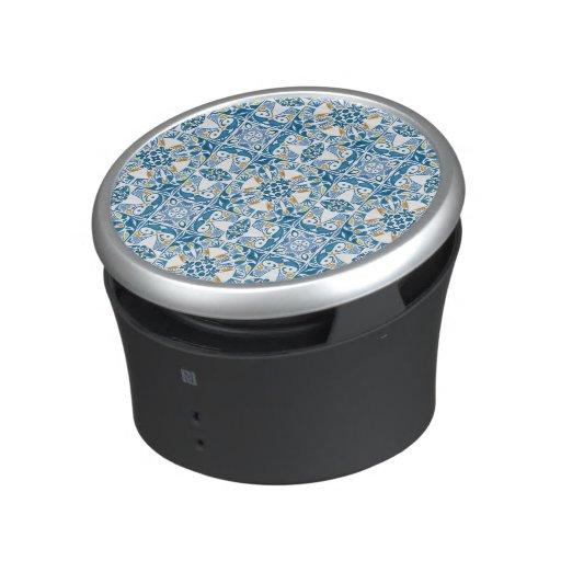 Portuguese Tile Pattern Speaker