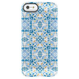 Portuguese Tile Pattern Permafrost® iPhone SE/5/5s Case