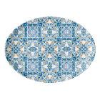Portuguese Tile Pattern Porcelain Serving Platter
