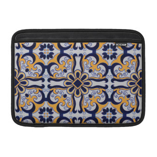 Portuguese tile pattern sleeve for MacBook air