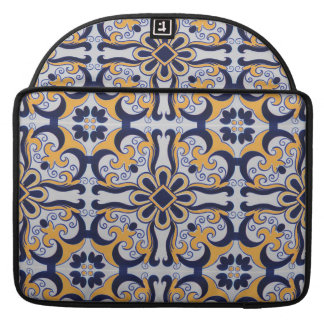 Portuguese tile pattern sleeve for MacBooks