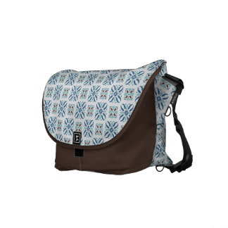 Portuguese tile style commuter bag