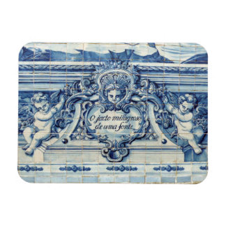 Portuguese tiles with angels from Porto Magnet