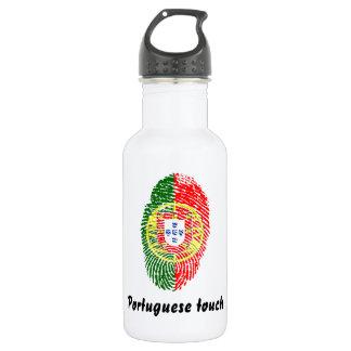Portuguese touch fingerprint flag 532 ml water bottle