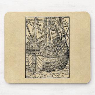 Portuguese Trading Ship Mouse Pad