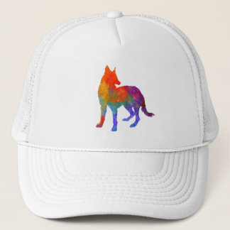 Portuguese Warren Hound in watercolor Trucker Hat