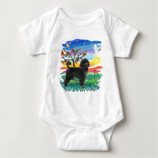 Portuguese Water Dog (#2) Baby Bodysuit